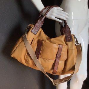Cynthia Rowley mustard handbag- 17x12